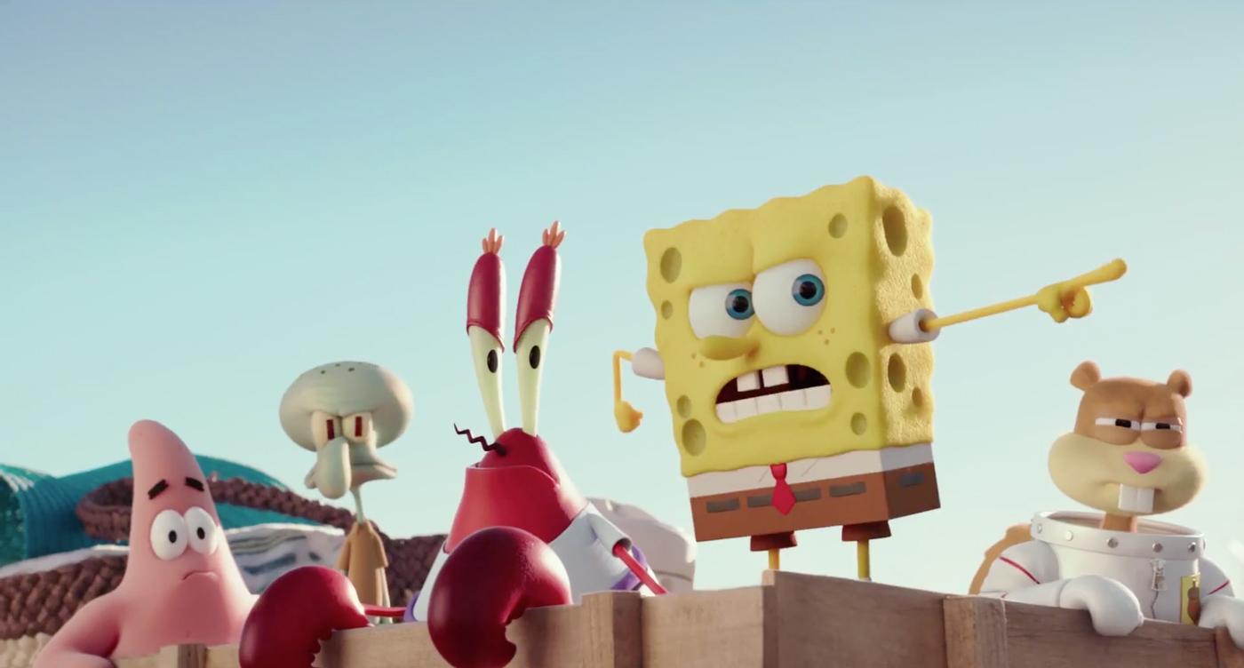 Губка Боб в 3D ( / The SpongeBob Movie: Sponge Out of Water)