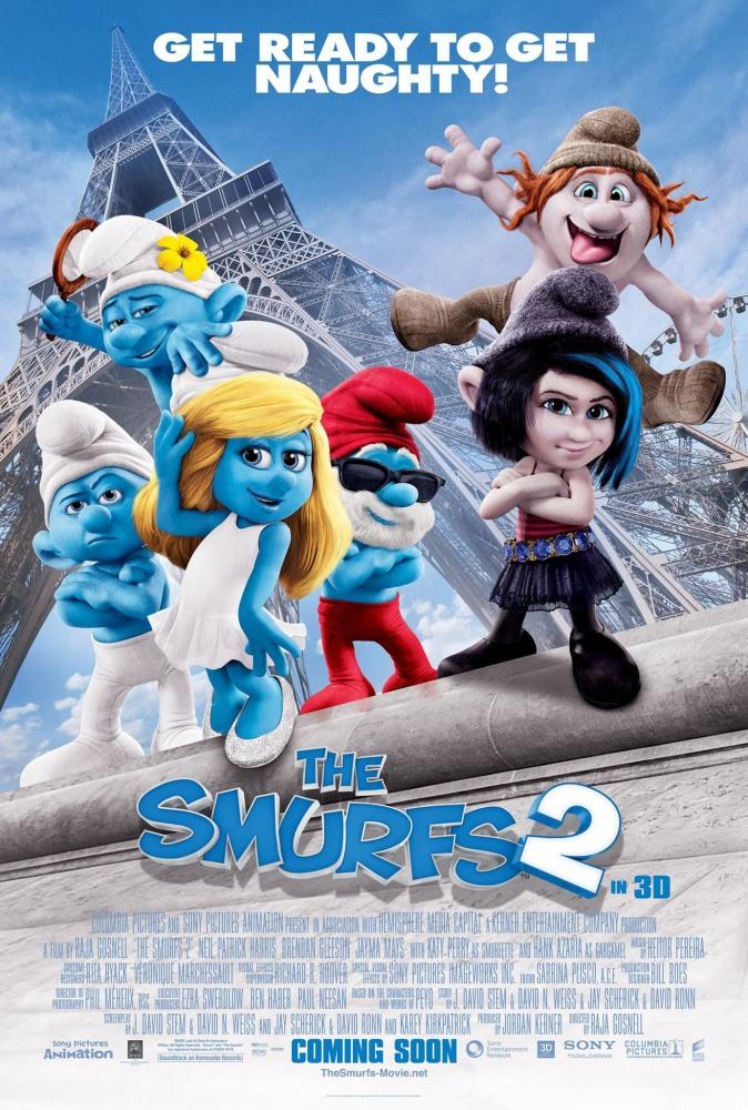 Смурфики 2 (The Smurfs 2)