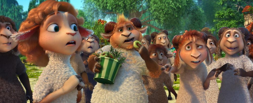 Волки и овцы: безумное превращение ()